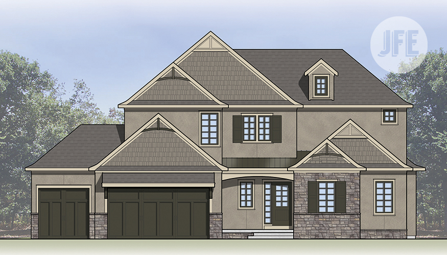 The Maplewood_Front Elevation