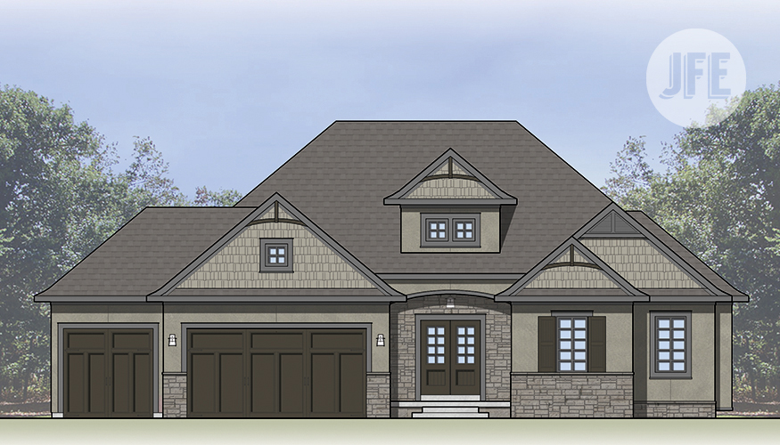The Summerfield_Front Elevation
