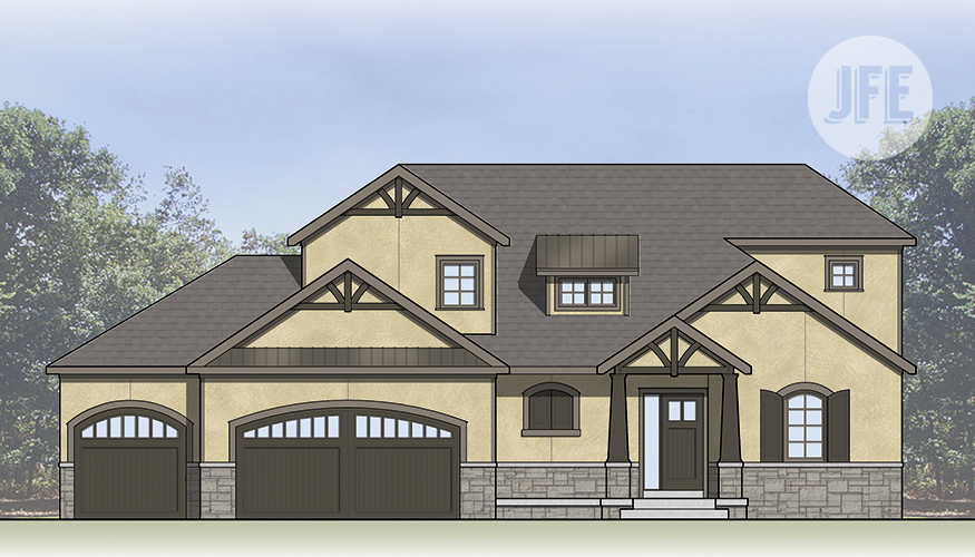 The Woodland_Front Elevation